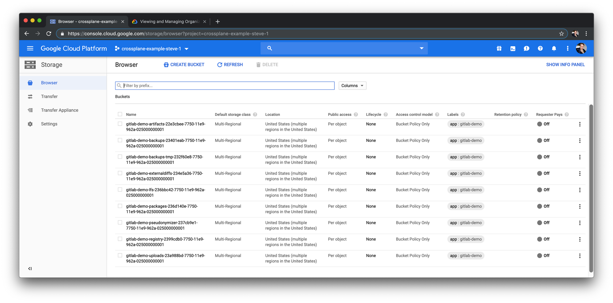 Crossplane composes fully-managed services in Kubernetes to